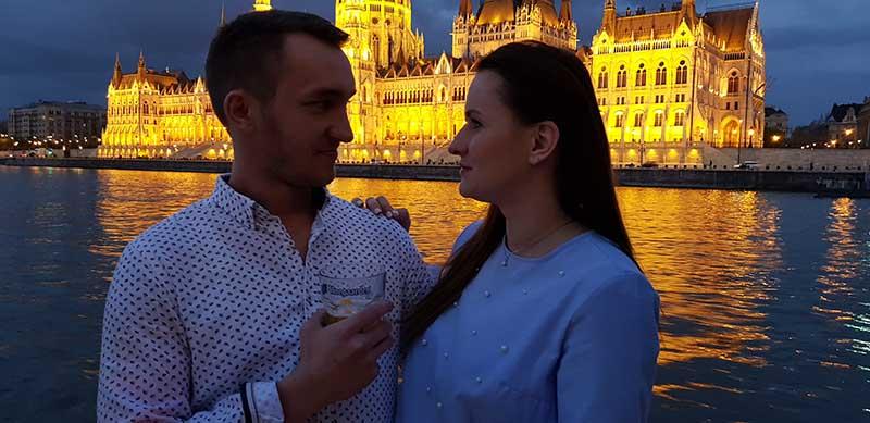 eljegyzés és romantikus program budapesten